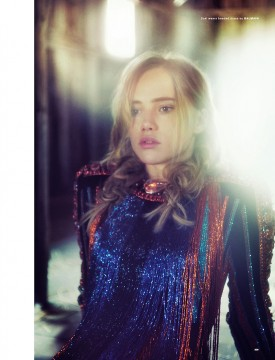 Suki Waterhouse | LOVE N°14 Autumn / Winter 2015 (Photography: Drew Jarrett)