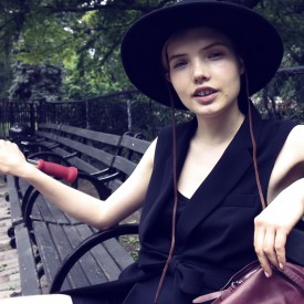Avery Tharp tells of her peak fashion moment, which not surprisingly involves Chanel (Video still: Damien Neva)