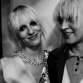 Lili Sumner & Lida Fox are IRL friends too | Creatures of the Wind Spring 2016 (Video still: Damien Neva)