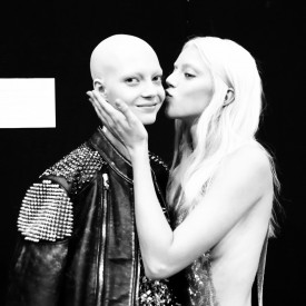 Pyper and Yana D are to open and close the show respectively | Philipp Plein Spring / Summer 2016 (video still: Damien Neva)