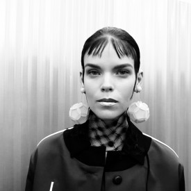 Meghan Collison | Prada Spring / Summer 2016 (Video still: Damien Neva)
