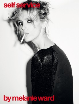 Anja Rubik | Self Service N°43 Fall / Winter 2015 (Photography: Ezra Petronio)