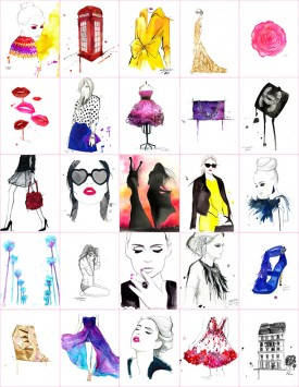 Now Representing Jessica Durant (Illustrations: courtesy of Jessica Durrant)