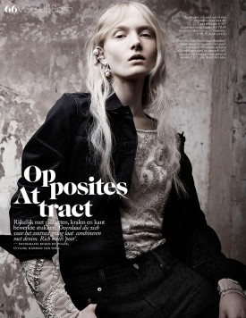 Maja Salamon | Vogue Nederland November 2015 (Photography: Ruben De Wilde)