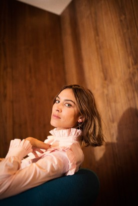 Alexa Chung Collaborates with M&S on New Collection (Photography: Tom Craig)