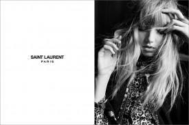 Grace Hartzel for Saint Laurent Los Angeles Collection (Photography: Hedi Slimane)