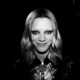 Leila Goldkuhl (E) | Givenchy Autumn / Winter 2016 (Video still: Damien Neva)