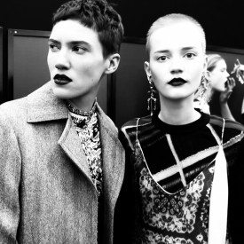 Tamy Glauser & Lina Hoss | Louis Vuitton Autumn / Winter 2016