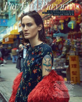 Jane Moseley | Vogue Korea June 2016 (Photography: Hyea W. Kang)