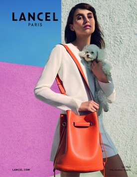 Langley Fox Hemingway for Lancel Spring 2016 (Photography: Viviane Sassen)