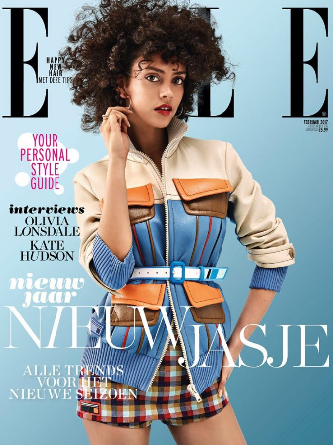 Nirvana Naves | ELLE Nederland February 2017 (Photography: Jeroen W. Mantel)