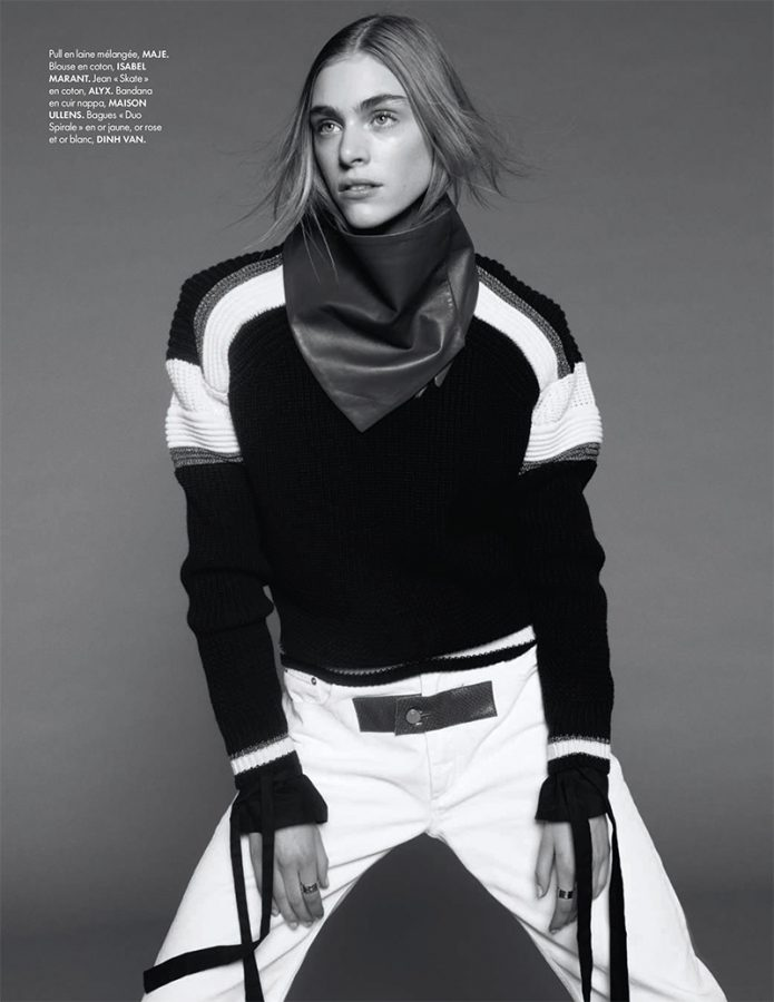 Hedvig Palm   ELLE France 6 January 2017 (Photography: Jan Welters)
