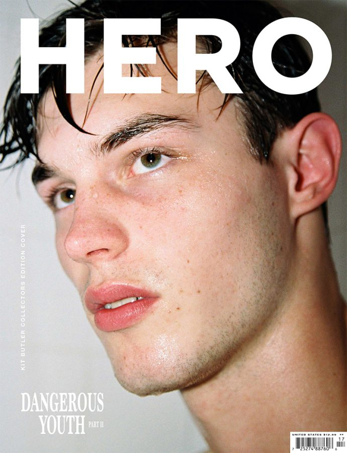 Kit Butler | Hero N°17 Spring / Summer 2017 (Photography: Fabien Kruszelnicki)