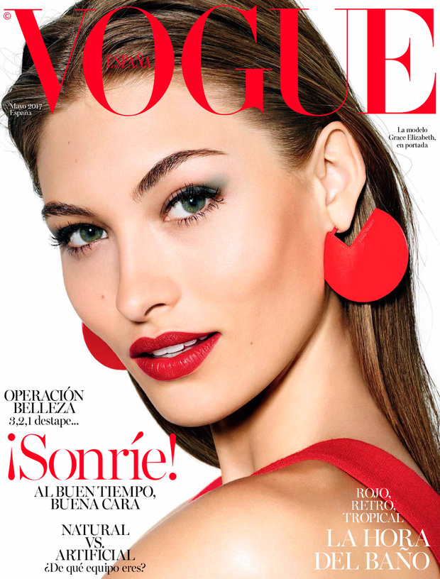 Grace Elizabeth | Vogue España May 2017 (Photography: Richard Burbridge)