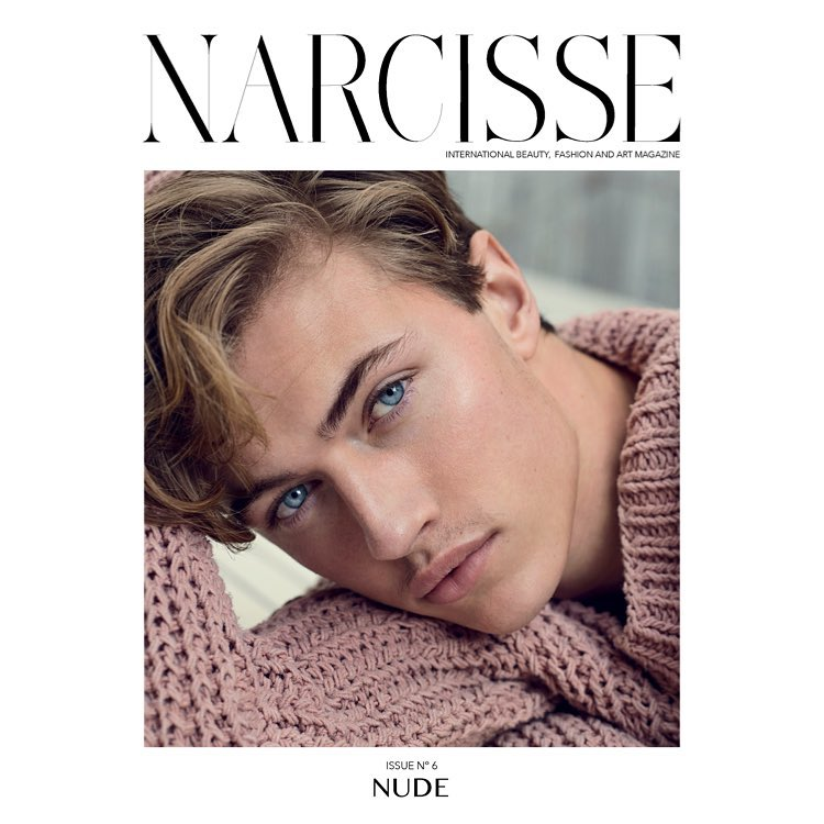Lucky Blue Smith | Narcisse N°6 Spring 2017 (Photography: Marcin Tyszka)