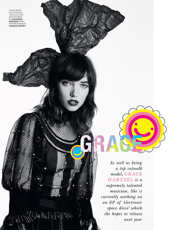 Grace Hartzel | LOVE N°18 Fall / Winter 2017 (Photography: Patrick Demarchelier)