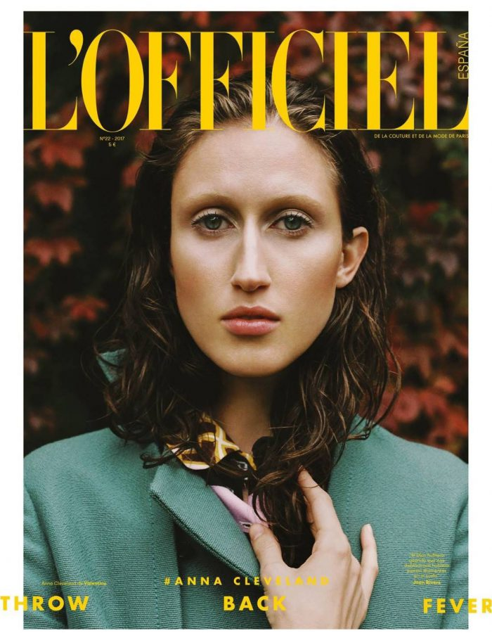 Anna Cleveland | L'Officiel España November 2017 (Photography: Laura Marie Cieplik)