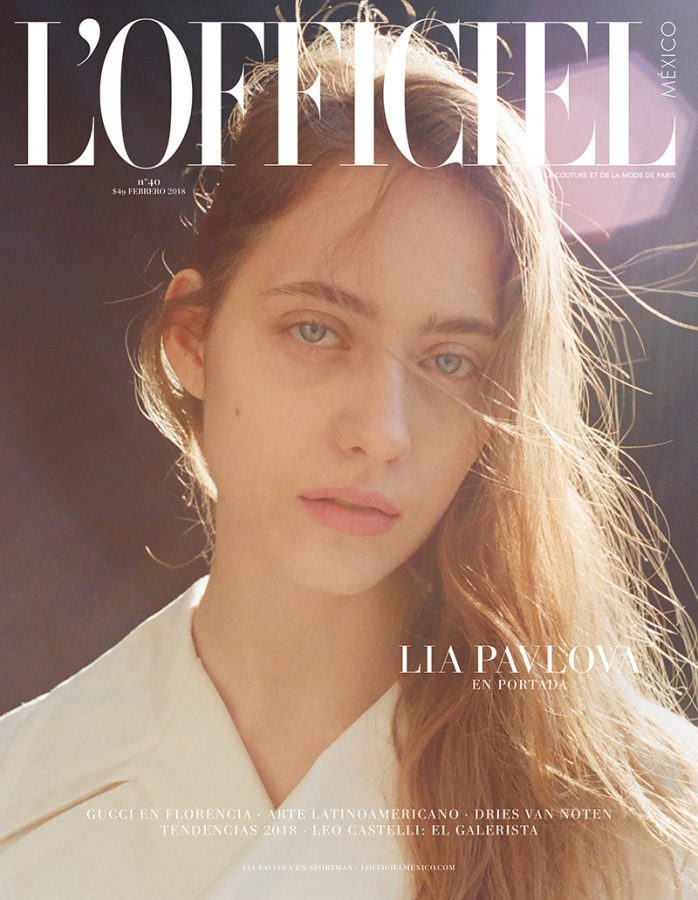 Lia Pavlova | L'Officiel México February 2018 (Photography: Ryan Brabazon; Styling, Yasmina Benabdelkrim)