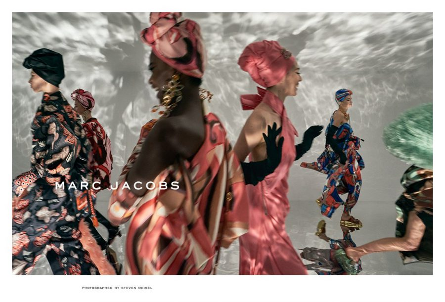 Aube Jolicoeur for Marc Jacobs Spring 2018 (Photography: Steven Meisel)