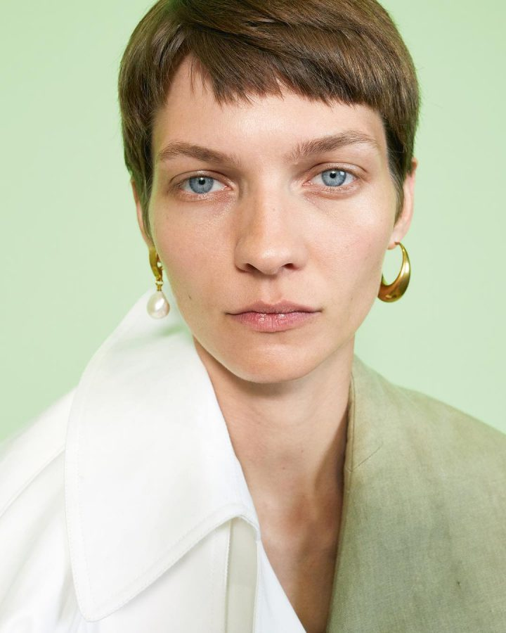 Karolin Wolter for Céline Summer 2018 (Photography: Juergen Teller)