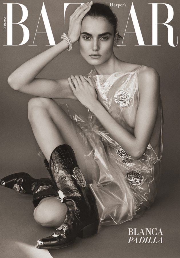 Blanca Padilla | Harper's Bazaar Turkey January 2018 (Photography: Tom Schirmacher)