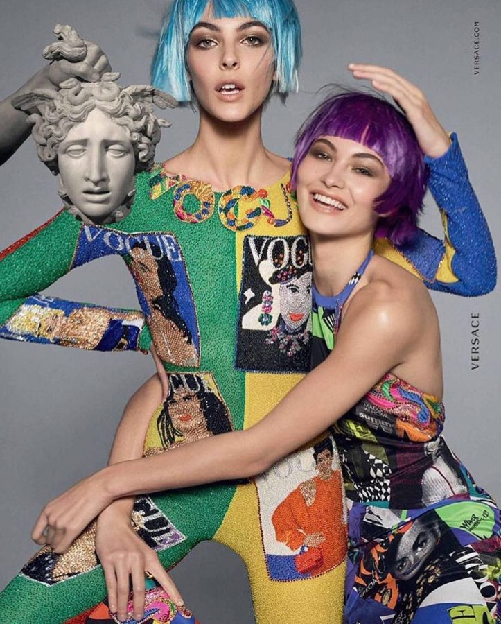Grace Elizabeth for Versace Spring / Summer 2018 (Photography: Steven Meisel)