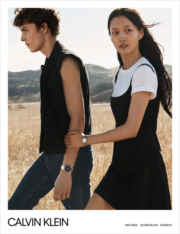 Wangy for CALVIN KLEIN Watches Spring 2018 (Photography: Lachlan Bailey)