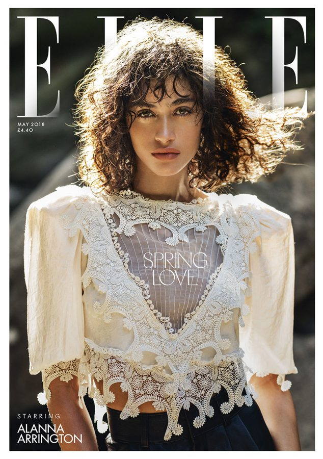 Alanna Arrington | ELLE UK May 2018 (Photography: Gilles Bensimon)