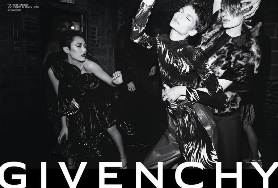 Karolin Wolter for Givenchy Fall / Winter 2018 (Photography: Steven Meisel)